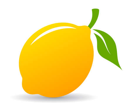 Lemon vector icon