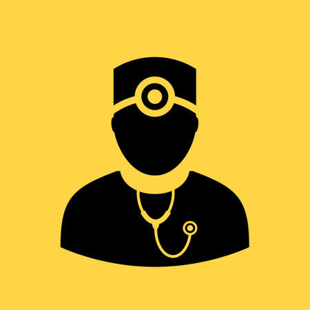 physicist: Doctor vector icon