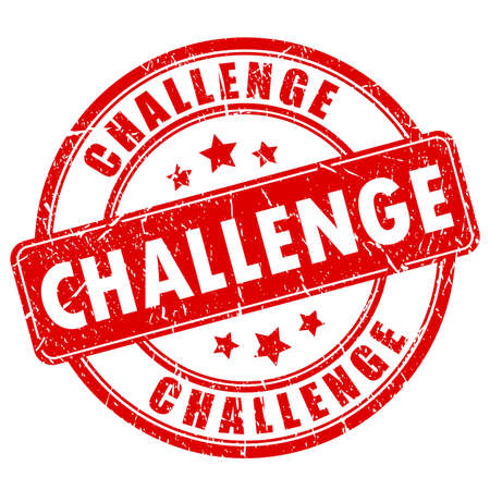 challenges: Challenge rubber stamp
