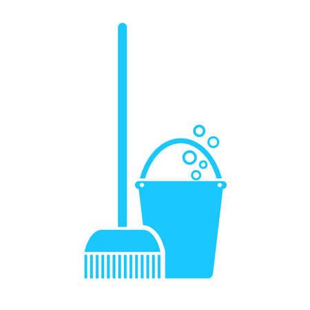 Mop swab icon