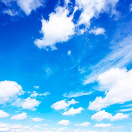 fleecy: Blue sky and clouds