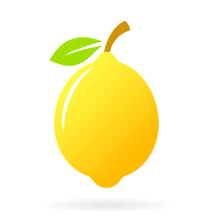 limon: Lemon vector icon