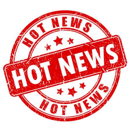 Hot News pieczątka