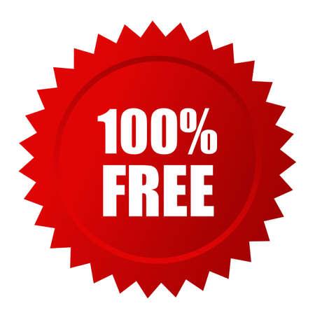 Free vector label