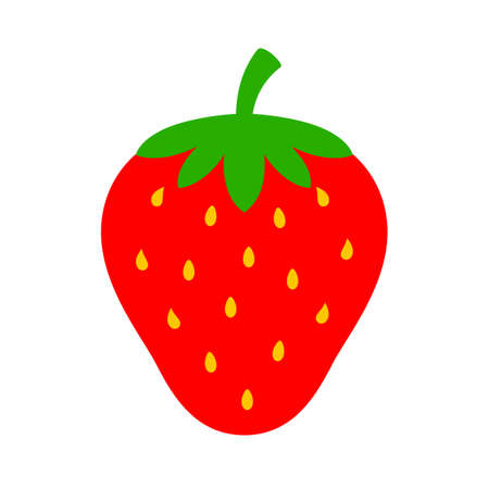Strawberry vector icon Ilustrace