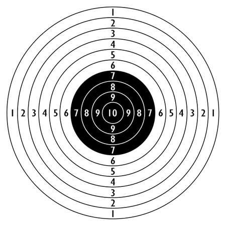 Shooting target icon