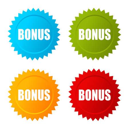 freebie: Bonus star vector icon Illustration