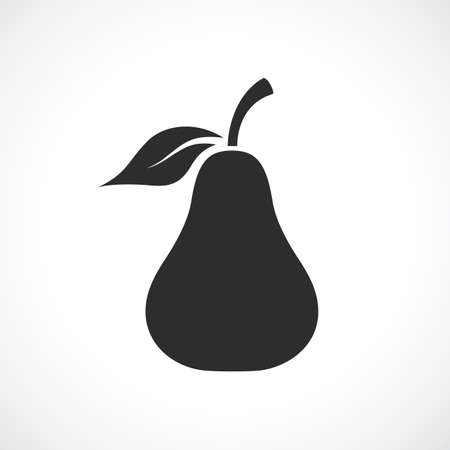 Pear vector sign