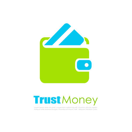 accounting logo: Trust money abstract finance vector logo