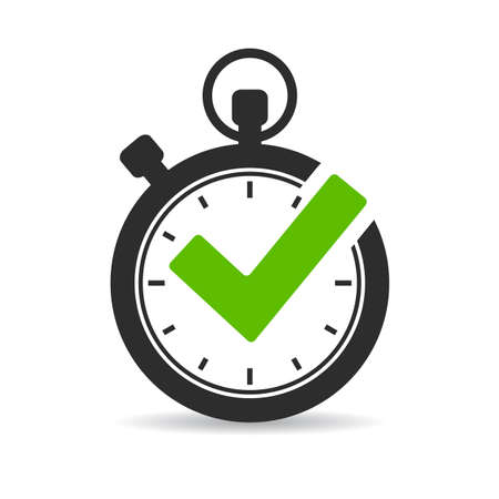 Stopwatch vector icon