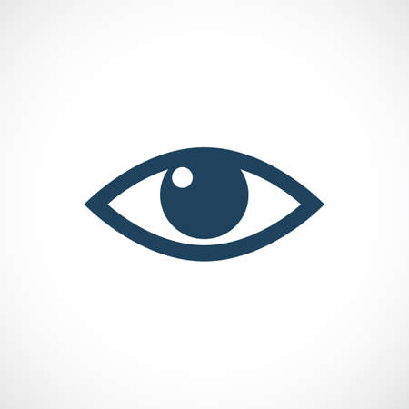 eyes wide open: Eye vector icon