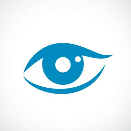 人間の目のベクトルのアイコン  イラスト・ベクター素材
