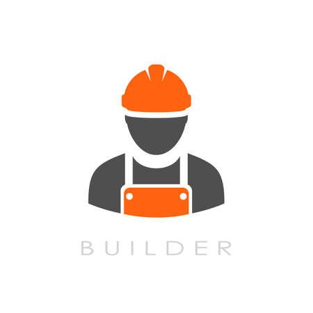 logo vector: Builder vector logo
