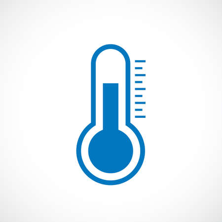tester: Thermometer vector icon