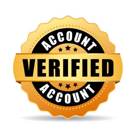 validation: Verified account vector icon Illustration