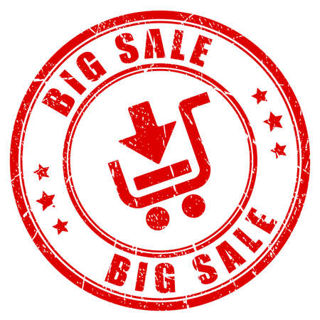 best buy: Big sale shopping rubber stamp