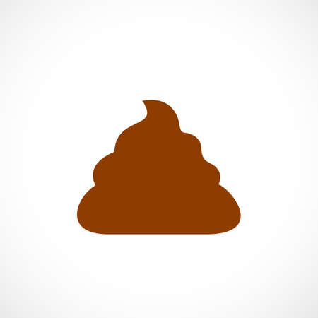Poop vector icon Çizim