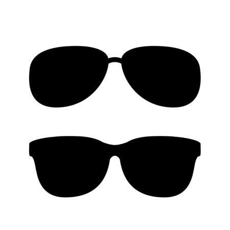 old people: Sunglasses vector icon