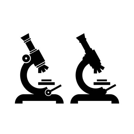 Microscope vector pictogram Illustration
