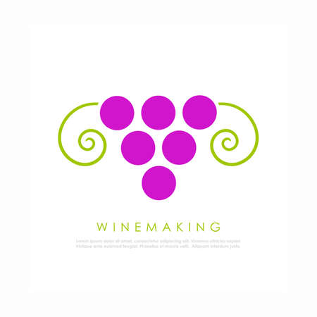 winemaking: Wine vector logo