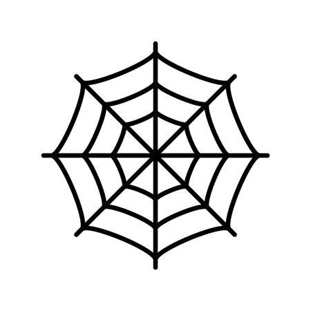 Spinnenweb vector icoon