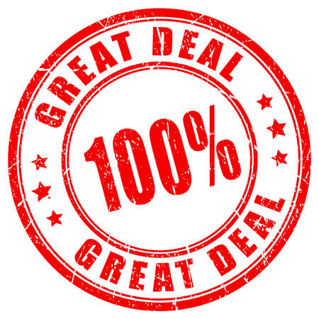 quality guarantee: Great deal rubber stamp