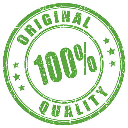 オリジナル品質のゴム印  イラスト・ベクター素材