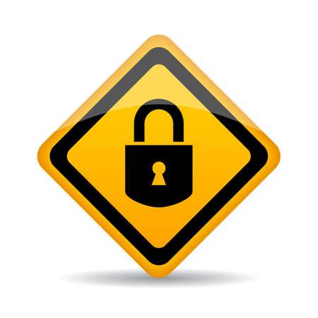 Lock vector sign