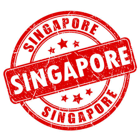 old people: Singapore rubber stamp