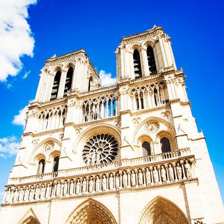 Notre Dame de Paris cathedral catholic church, Paris, France Editorial