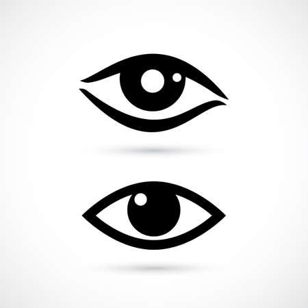 viewing: Human eye icon.