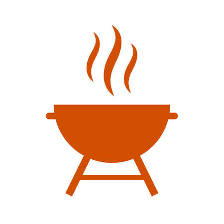 icon vector: Grill vector icon