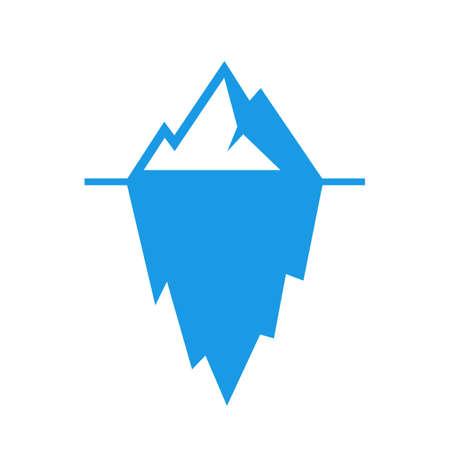 Glacier vector pictogram Illustration