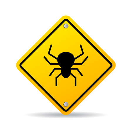 Bug warning vector sign