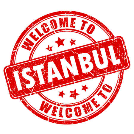 dirty: Welcome to Istanbul vector stamp