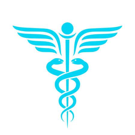 Medicine ancient vector emblem