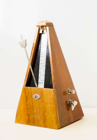 Old mechanical metronome
