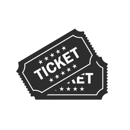 admittance: Ticket vector icon