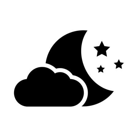 Night vector icon