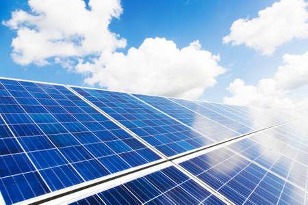Solar panels photo Imagens