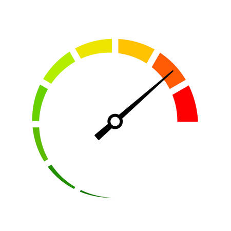 Full speed vector icon