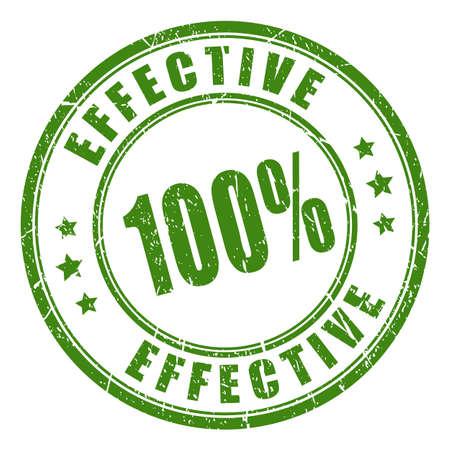 trusted: Effective rubber stamp illustration