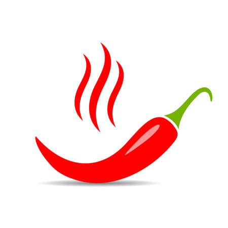 Extra spicy pepper vector icon