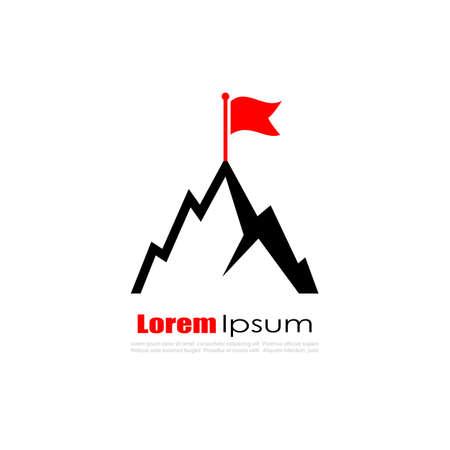Top achievement vector logo