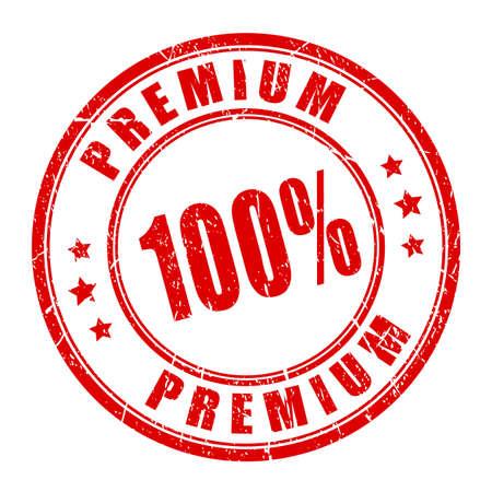 Premium vector rubber stamp