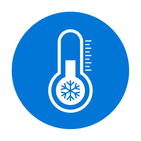 Cold vector pictogram Ilustrace