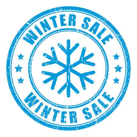 Winterschlussverkauf Stempel