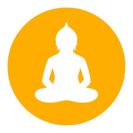 Meditating Buddha icon