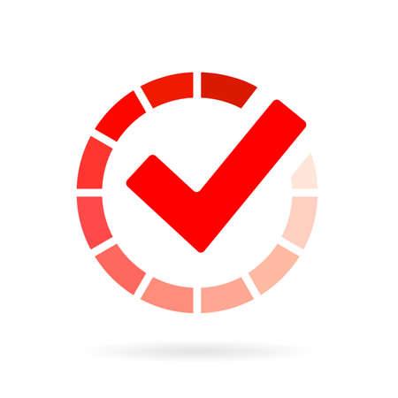 Loading progress bar pictogram