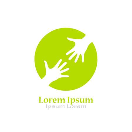 Charity help logo